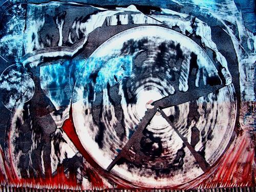 WERWIN, End of Time, Abstraktes, Abstraktes, Abstrakte Kunst