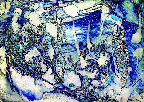 WERWIN, Eiszeit, Abstraktes, Abstraktes, Gegenwartskunst