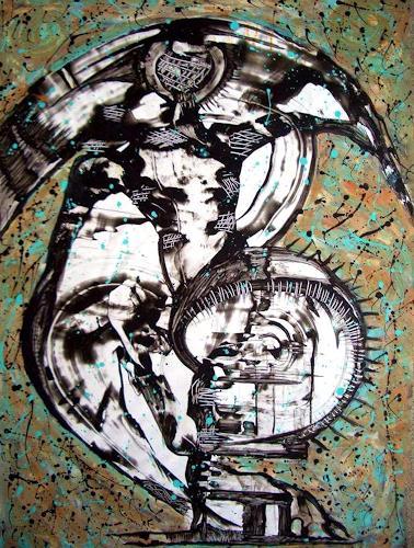 WERWIN, Lifecircle, Abstraktes, Abstraktes, Gegenwartskunst