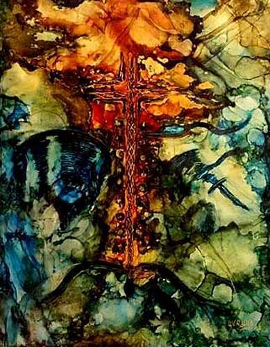 WERWIN, Anno 1997, Abstraktes, Abstraktes, Abstrakte Kunst