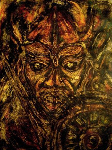 WERWIN, VIKINGREBEL FROM MIKLAGARD, Skurril, Konkrete Kunst, Abstrakter Expressionismus
