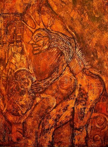 WERWIN, ARTIST EQUINOX II, Fantasie, Fantasie, Gegenwartskunst, Abstrakter Expressionismus