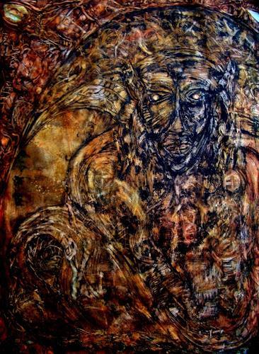 WERWIN, MEDICINE MAN, Fantasie, Fantasie, Postsurrealismus, Abstrakter Expressionismus