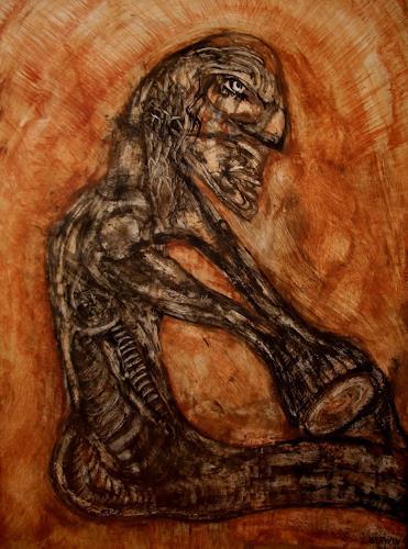 WERWIN, The Last Fight, Menschen: Mann, Gegenwartskunst