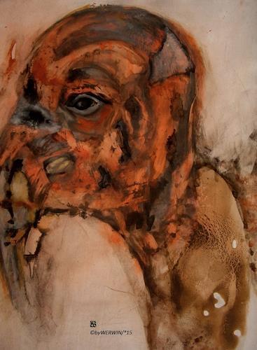 WERWIN, Under my skin, Diverse Gefühle, Gegenwartskunst, Abstrakter Expressionismus