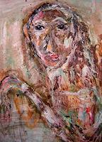 WERWIN-Menschen-Frau-Diverses-Moderne-Expressionismus