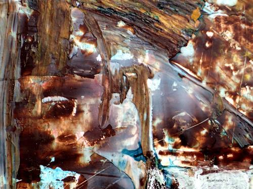 WERWIN, Hell Bell, Abstraktes, Fantasie, Gegenwartskunst, Abstrakter Expressionismus