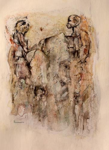WERWIN, berühren reicht nicht um zu begreifen, Diverse Gefühle, Bewegung, Gegenwartskunst, Abstrakter Expressionismus