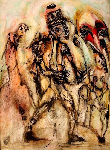 WERWIN, die suchenden, Bewegung, Gegenwartskunst, Abstrakter Expressionismus