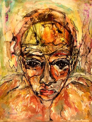 WERWIN, JUDITH, Menschen: Frau, Gegenwartskunst, Abstrakter Expressionismus