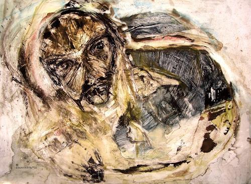 WERWIN, Der letzte Tag vor dem Ziel, Krieg, Gegenwartskunst, Abstrakter Expressionismus