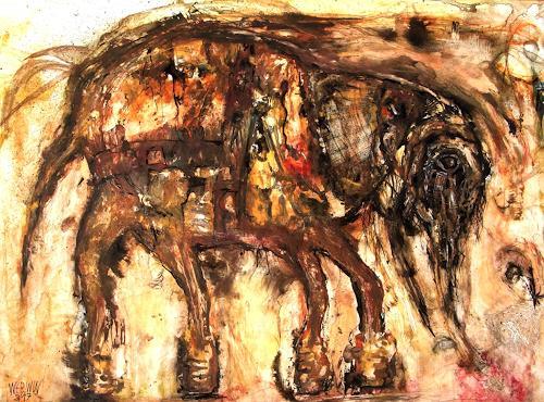 WERWIN, Gefangen - Gezüchtigt - Deformiert - Gebrochen, Tiere: Land, Gegenwartskunst