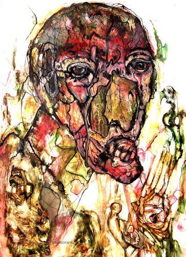 WERWIN, Die Hölle beginnt im Kopf, Menschen, Gegenwartskunst