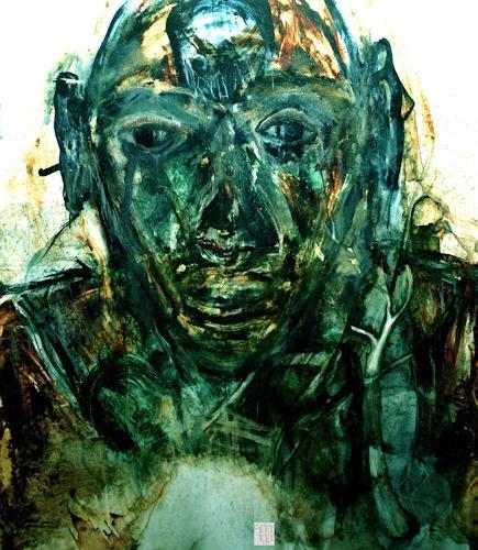 WERWIN, Wo das Licht der Welt erlischt, Menschen, Prozesskunst, Abstrakter Expressionismus