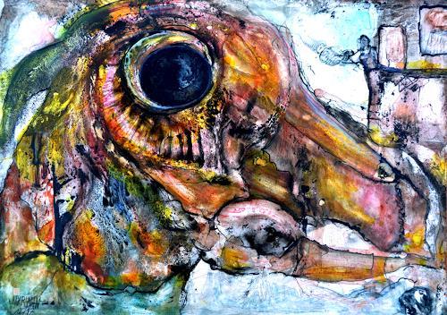 WERWIN, Der frühe Vogel fängt den Wurm, Skurril, Surrealismus