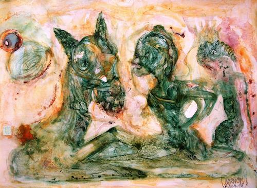 WERWIN, Malachit, Skurril, Surrealismus