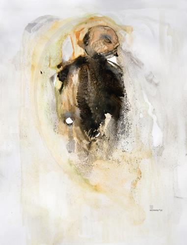 WERWIN, The Death is Born, Religion, Prozesskunst, Abstrakter Expressionismus