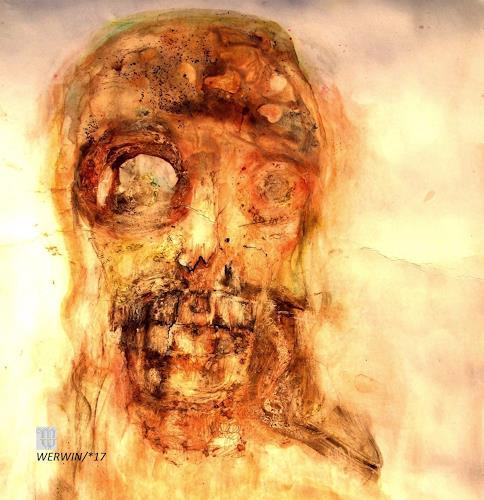 WERWIN, O/T, Gefühle: Horror, Prozesskunst, Abstrakter Expressionismus