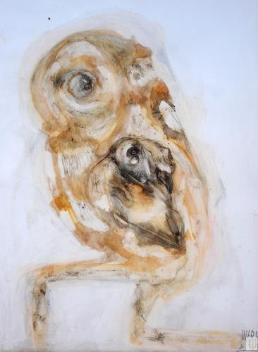 WERWIN, Am Wegrand, Diverse Menschen, Surrealismus