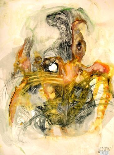 WERWIN, Morphos Animaux, Fantasie, Surrealismus, Abstrakter Expressionismus