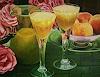 R. Valenti, Bicchieri con Pesche