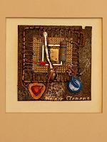 W. Clemens, HirnHerz 2.1 aus der Serie Prozessorkunst