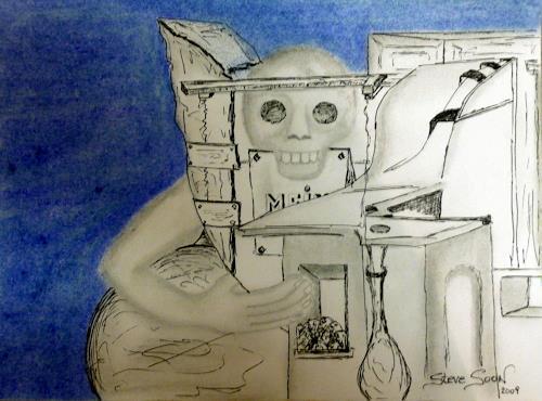 Steve Soon, Gier, Fantasie, Neue Figurative Malerei