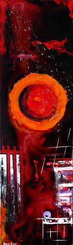 Steve Soon, flameover, Abstraktes, Moderne