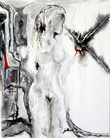 Steve-Soon-Akt-Erotik-Akt-Frau-Moderne-Abstrakte-Kunst