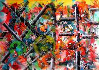 Steve-Soon-Abstraktes-Moderne-Abstrakte-Kunst-Action-Painting