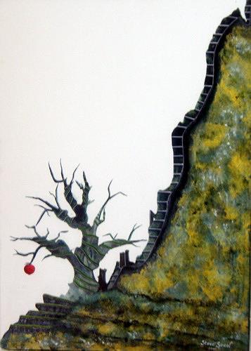 Steve Soon, sündenfall, Fantasie, Land-Art