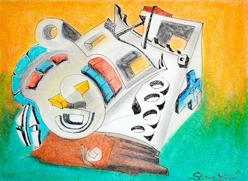 Steve Soon, Substruktion, Abstraktes, Abstrakter Expressionismus
