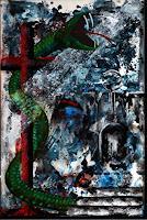 Steve-Soon-Tiere-Land-Moderne-Konkrete-Kunst