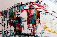 Steve-Soon-Abstraktes-Moderne-Abstrakte-Kunst-Informel