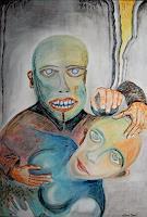 Steve-Soon-Diverse-Gefuehle-Moderne-Abstrakte-Kunst-Art-Brut