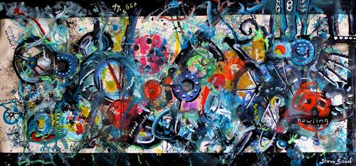 Steve Soon, x-ploschn, Abstraktes, Radikale Malerei