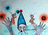 Steve-Soon-Menschen-Gruppe-Gegenwartskunst--Neo-Expressionismus