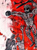 Steve-Soon-Gefuehle-Aggression-Gegenwartskunst--Neo-Expressionismus