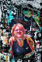 Steve-Soon-Menschen-Frau-Moderne-Pop-Art