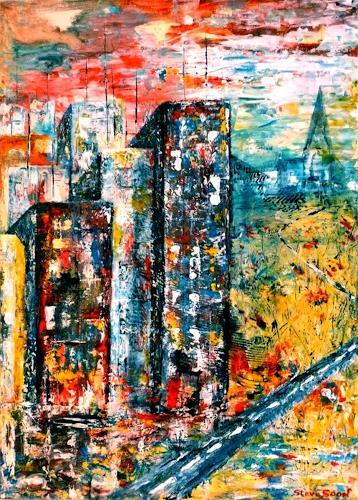 Steve Soon, Hightowers, Bauten: Hochhaus, Expressionismus