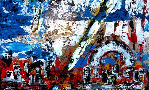 Steve Soon, stormmandos, Abstraktes, Neo-Expressionismus