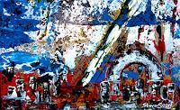 Steve-Soon-Abstraktes-Gegenwartskunst--Neo-Expressionismus