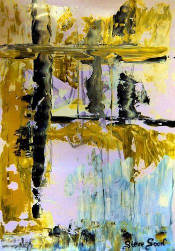 Steve Soon, o.T., Abstraktes, Radikale Malerei