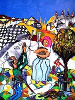 Steve-Soon-Situationen-Gegenwartskunst-Neo-Expressionismus