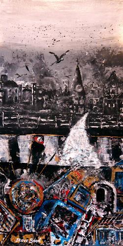 Steve Soon, two seasons, Fantasie, Neo-Expressionismus