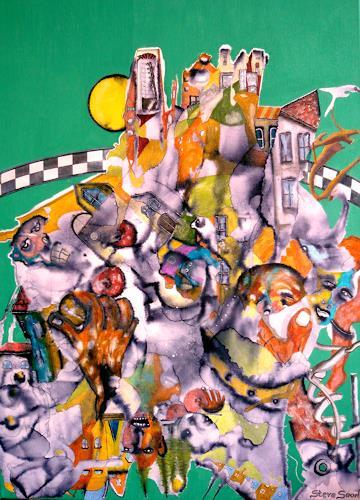Steve Soon, Greatz from Hieronymus - das jüngste Gerücht, Fantasie, Radikale Malerei
