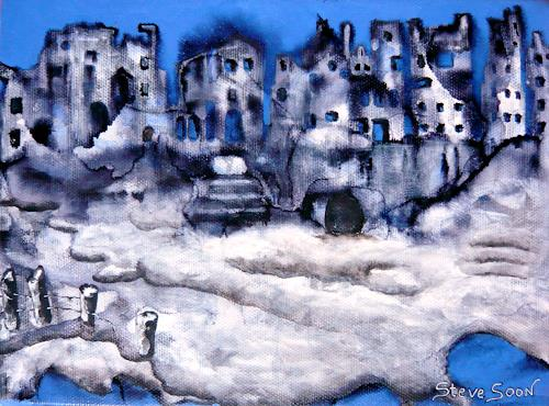 Steve Soon, Abbruch = Aufbruch, Diverse Bauten, Neo-Expressionismus