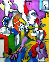 Steve-Soon-Abstraktes-Moderne-Kubismus