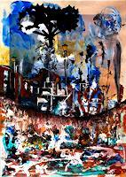 Steve-Soon-Landschaft-Herbst-Moderne-Impressionismus-Neo-Impressionismus