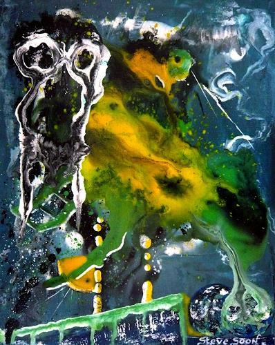 Steve Soon, astRAdikal, Abstraktes, Radikale Malerei